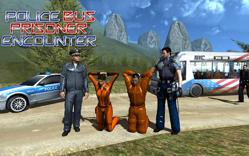 Police Bus Prisoner Encounter