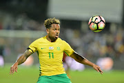 FILE IMAGE: Kermit Erasmus during the International friendly match between South Africa and Angola at Buffalo City Stadium on March 28, 2017 in East London.