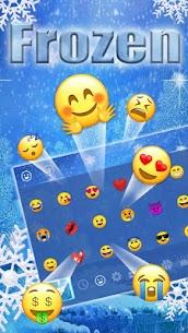 Frozen Snowflake Keyboard 3