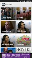 Screenshot of Council Bluffs Daily Nonpareil