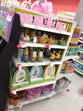 """Photo: While I was right on the main aisle, I spotted the Celebrations by Radko line of Easter decor! That was easy! I was expecting to see more selection since I know the Celebrations by Radko line at Christmas time is huge, but I suppose Easter isn't as big of a """"decorating"""" holiday."""