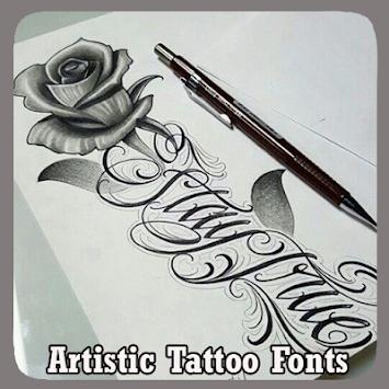 Download artistic tattoo fonts by muzaffar nahdan apk latest version artistic tattoo fonts by muzaffar nahdan poster publicscrutiny Choice Image