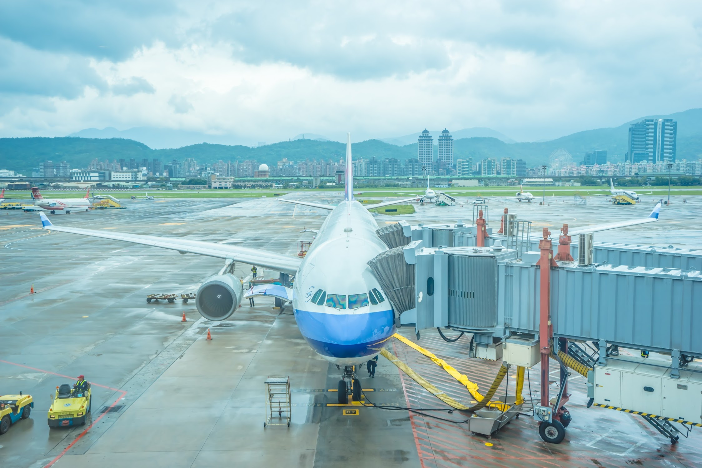 チャイナエアライン 台北松山空港