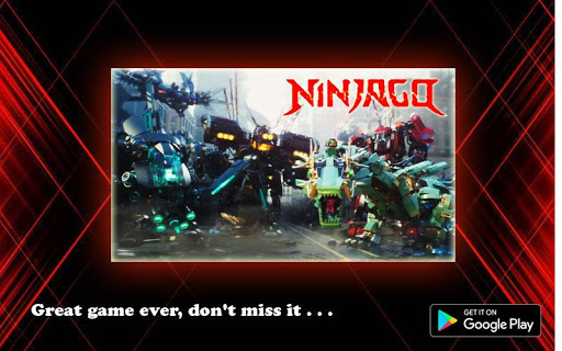 Ultimate Master Ninjago Tribute  captures d'écran 2