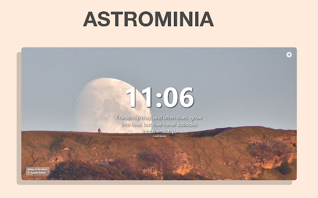 New Tab | By Astrominia