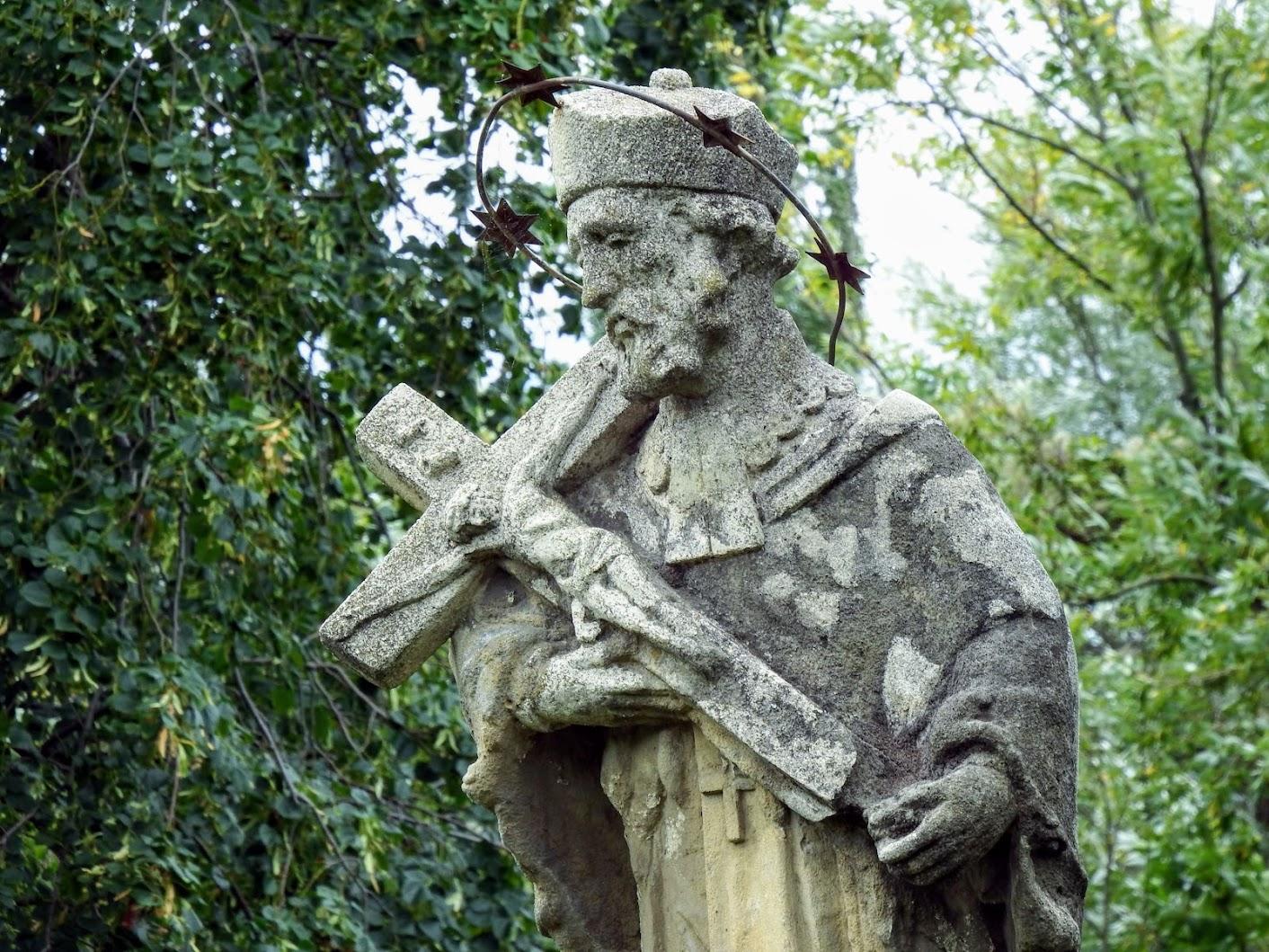 Gyenesdiás - Diási Nepomuki Szent János-szobor és -forrás