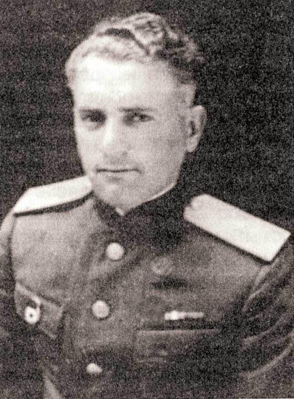 Кулешов А.Д. - нач-к отделения оперотдела штаба 20А