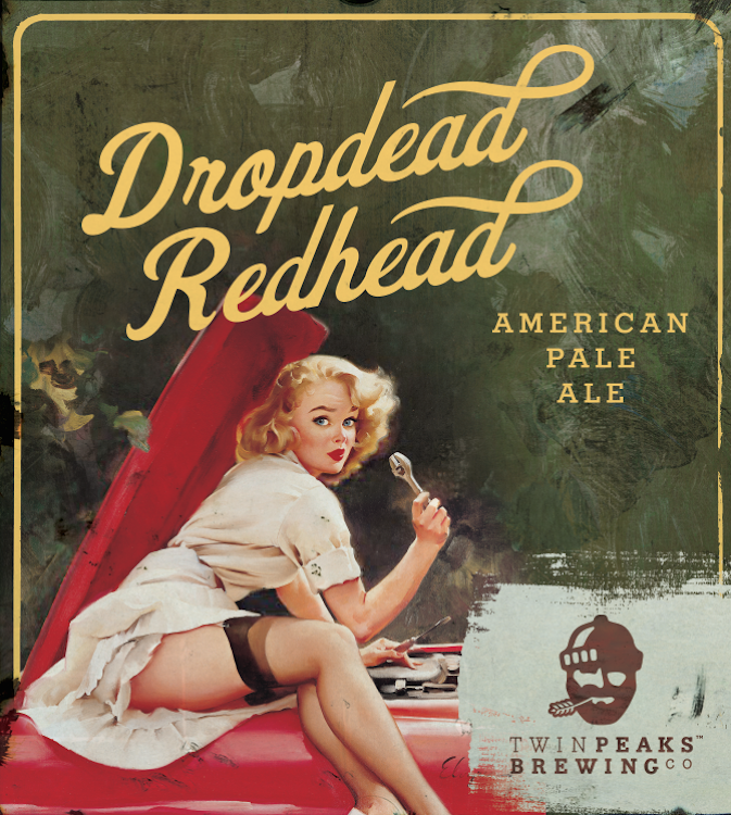 Logo of Twin Peaks Dropdead Redhead