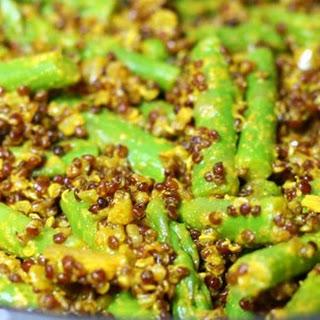 Crunchy Lemon Quinoa and Asparagus Bowl Recipe