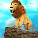 Wild Lion Simulator - Animal Family Survival Game icon