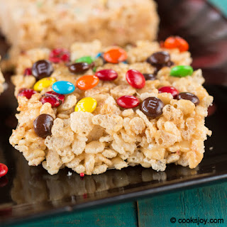 Rice Krispies Treats with Peanut Butter Recipe