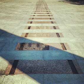 The Last Road #holocaust  #memorial  #Bucharest  #Romania #traintracks by Alex Cruceru - Instagram & Mobile Instagram