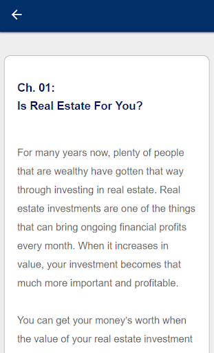 Real Estate Investing For Beginners 4.0 Screenshots 3
