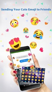 Emoji Keyboard ♥ screenshot 1