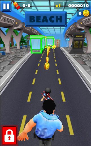 Subway Ninja Run:Surfer in the road 2.0 screenshots 3