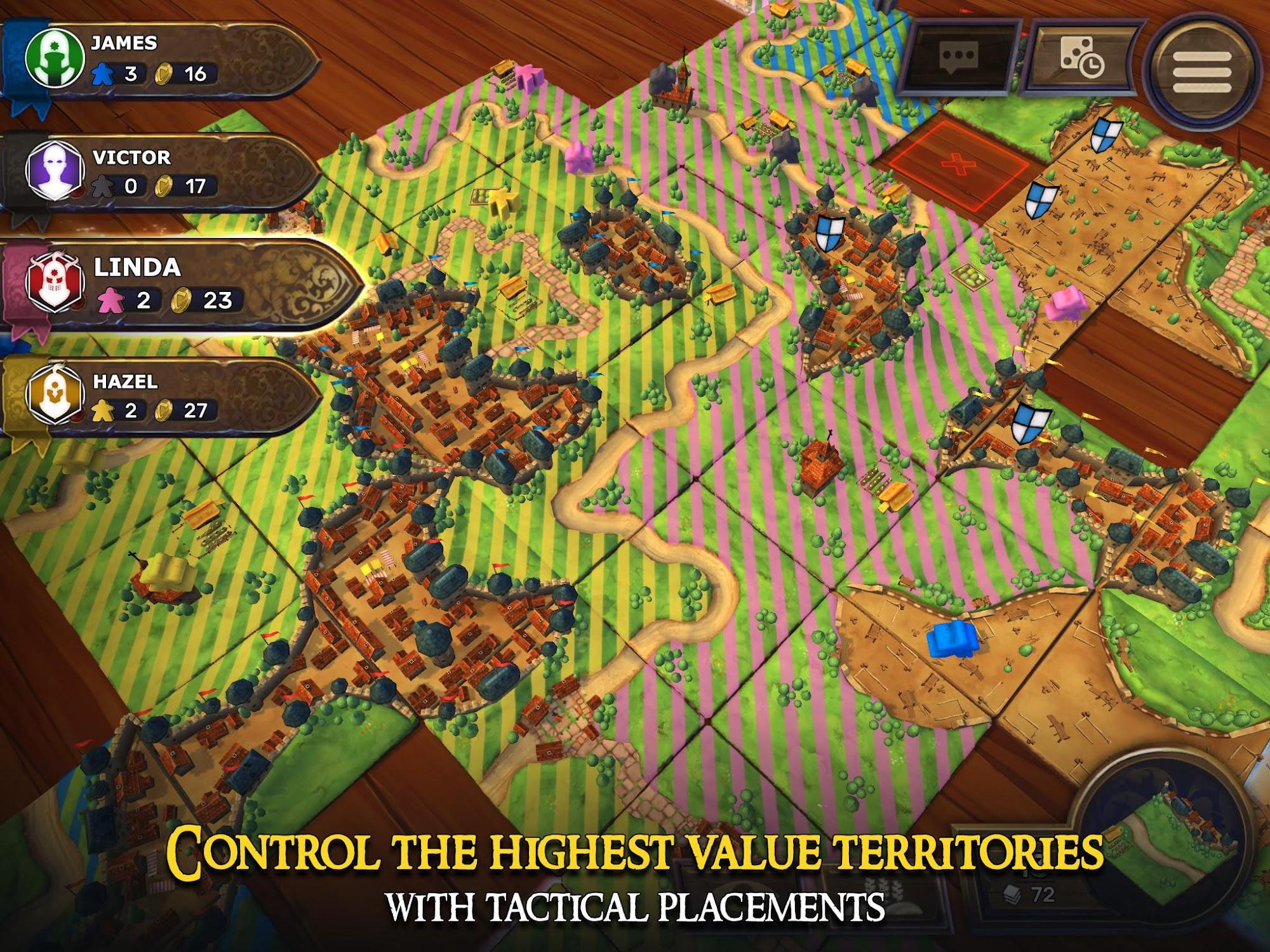 Carcassonne: Official Board Game -Tiles & Tactics screenshot #8