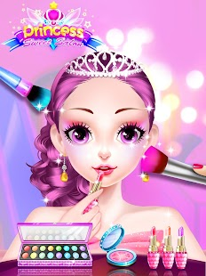 Princess Dress up Games - Princess Fashion Salon Screenshot