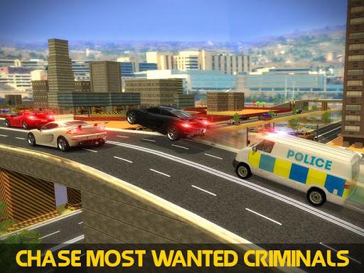 警方迷你巴士追求犯罪