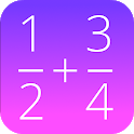 Fractions Math Pro icon