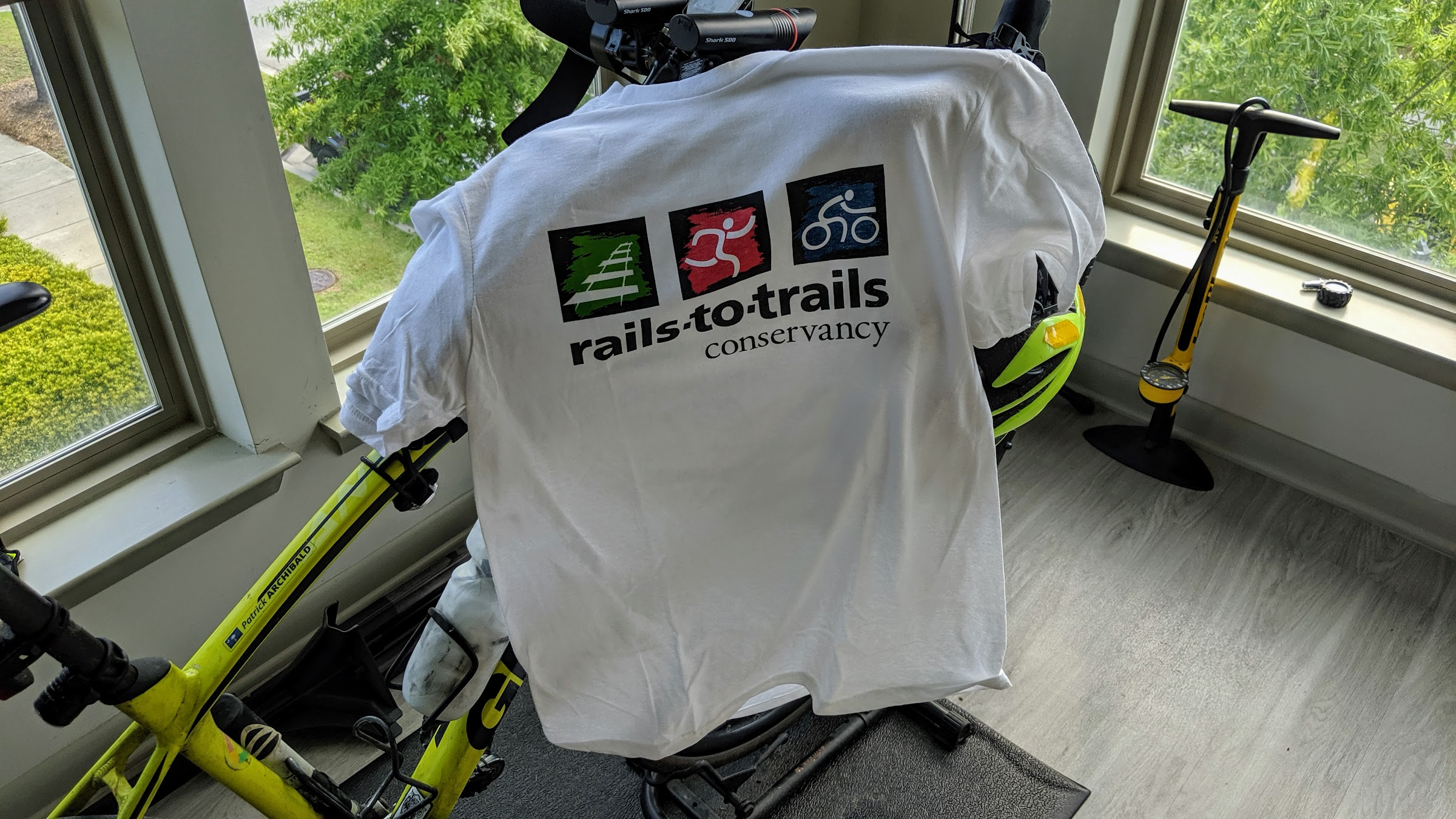 Rails To Trail Conservancy T-shirt
