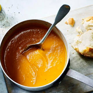 Roasted Butternut Squash Soup.