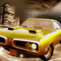 Old Muscle Car City Driving icon