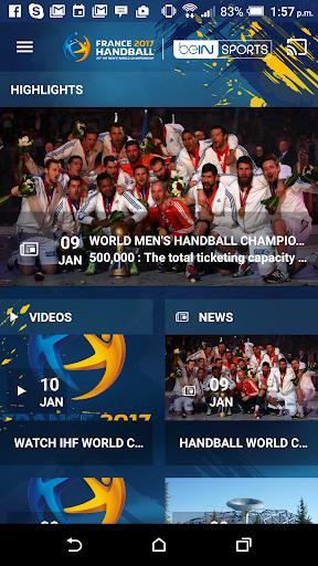 France 2017 Handball WC Live screenshot 1