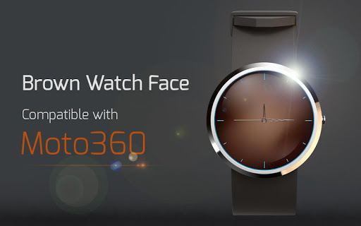 Brown Watch Face