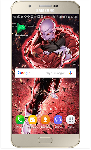 Fanart DBS and Dragon Z Live Wallpaper 1.2 screenshots 2