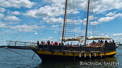 Photo: Liana's Ransom leaving the dock for a sail.