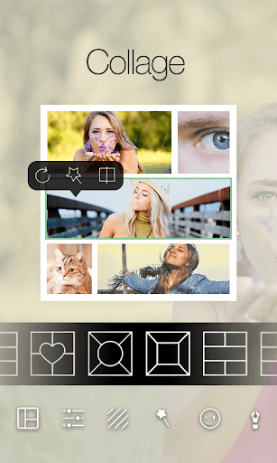 Square Pic Photo Editor-Collage Maker Photo Effect  screenshots 3