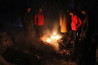 Photo: Pri ohníku bolo teplo