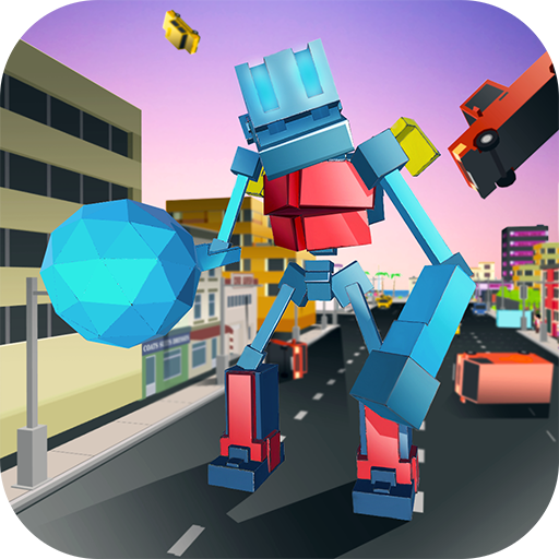 Blocky Robot Smash