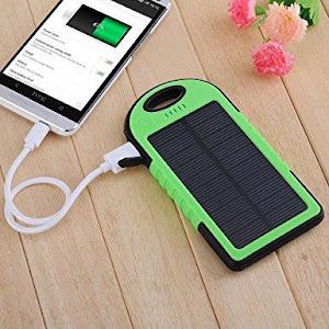 Baterie externa solara 10.000 mAh