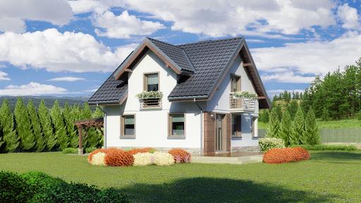 projekt Dom przy Wiosennej 6