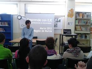 Photo: Charla motivación emprendedora - Archivel - Colaboración con INFO Reg. Murcia
