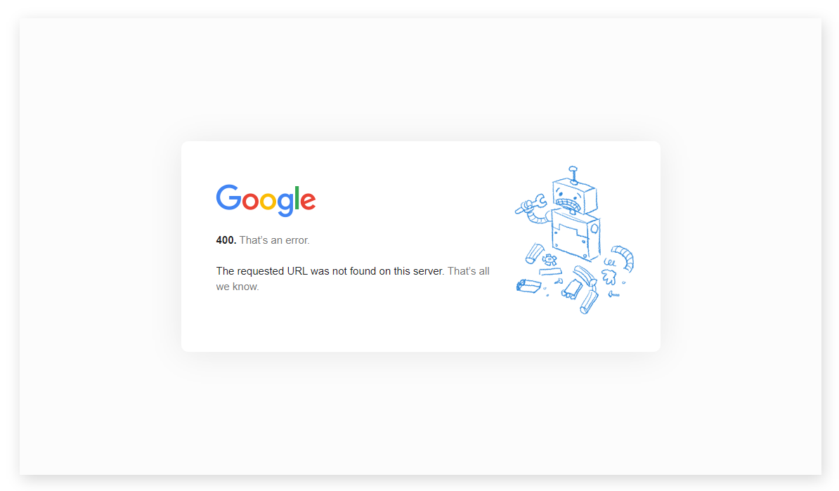 404 error - seo