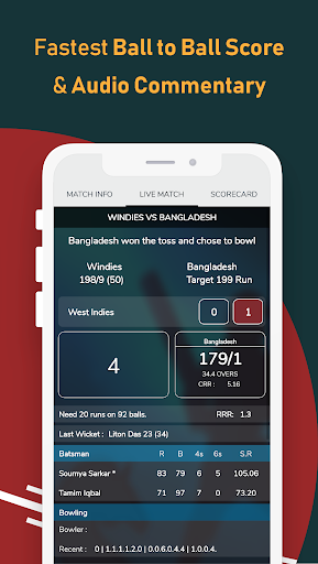 Live Cricket Scores - Cricket Exchange nd4.0.3 screenshots 2