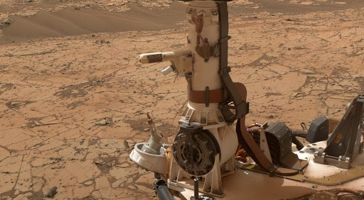 Mars Weather-Station Tools on Rover Mast