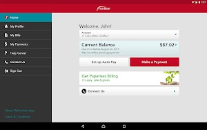 6 MyFrontier App screenshot