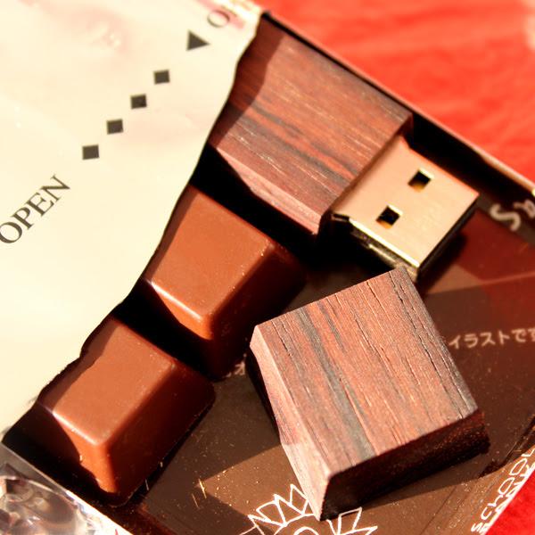 チョコレート USB