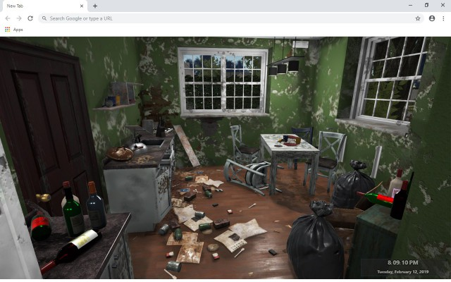 House Flipper New Tab & Wallpapers Collection