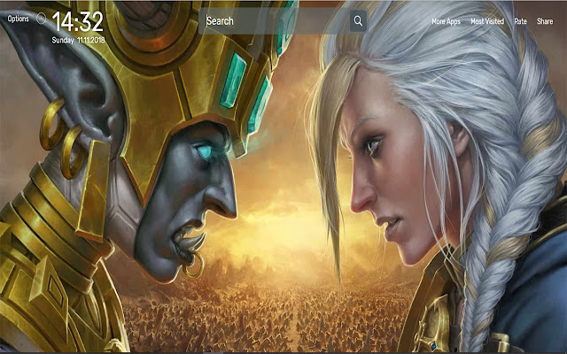 World Of Warcraft Battle For Azeroth Theme