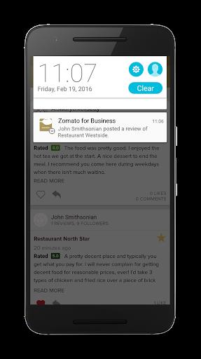 Screenshots von Zomato for Business 7