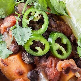 Sweet Potato + Black-Bean Turkey Chili
