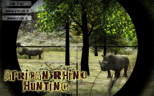 African Rhino Hunting