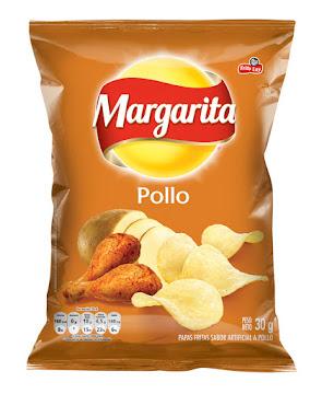 Pasabocas Margarita   Papas Fritas Pollo Paquete X30G.