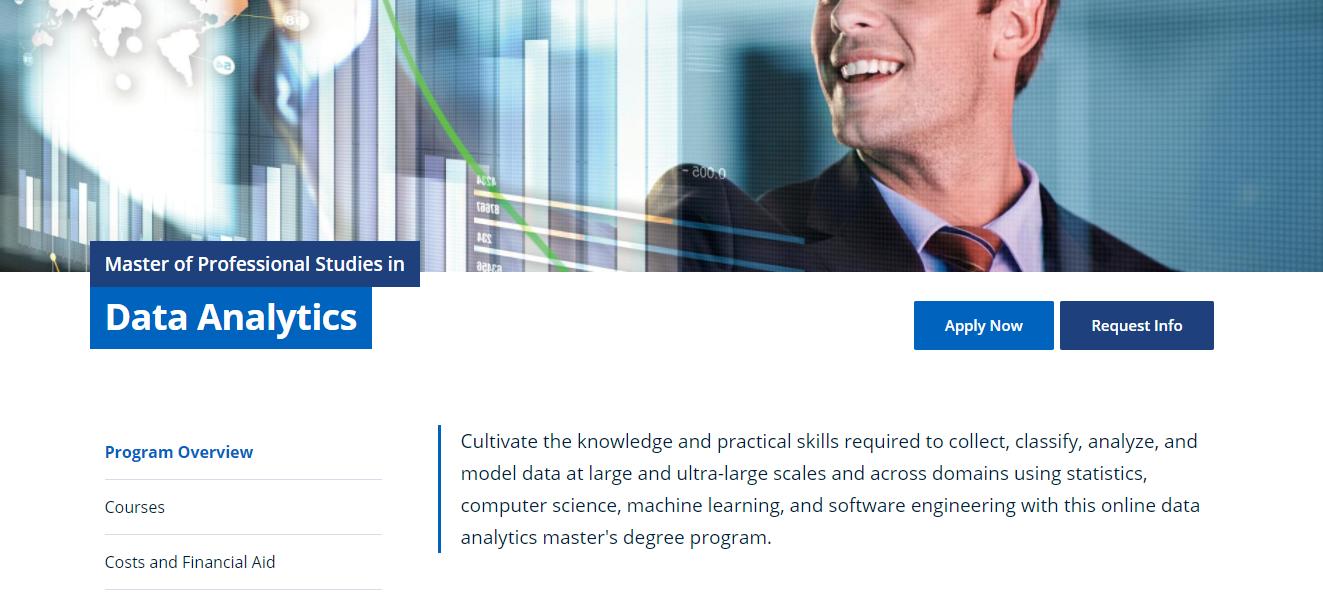 Master of Professional Studies in Data Analytics [Pennsylvania State University]