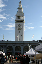 Photo: The Ferry Building used to be extremely busy as it was the only access point to the city before the bridges. Now it's quite busy as a marketplace.