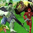 Superhero Dinosaur Hunting: Frontier Free Shooting apk